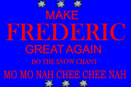make frederic great