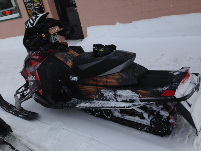 cool woody sled