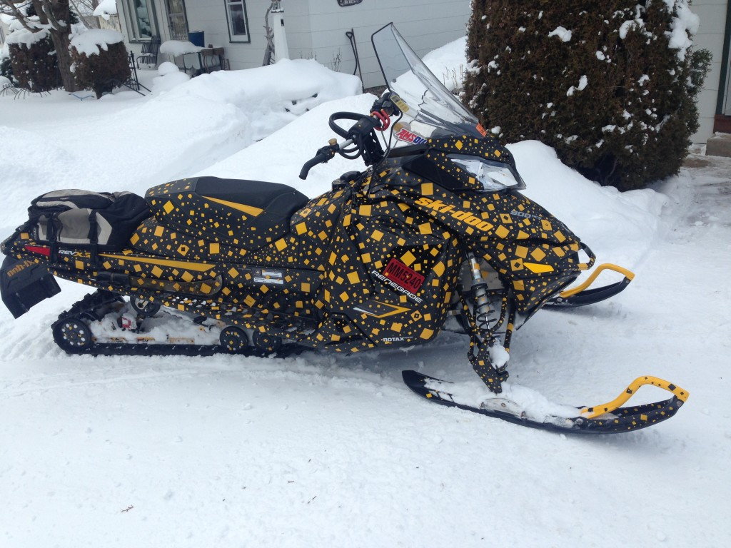 Andys, really cool sled