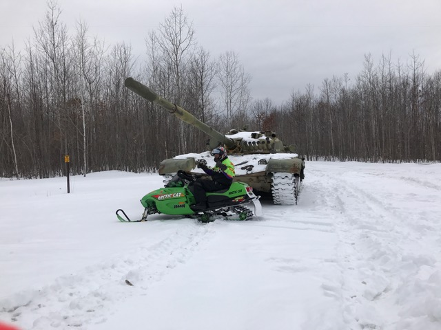 Deep Snow no problem for these machines