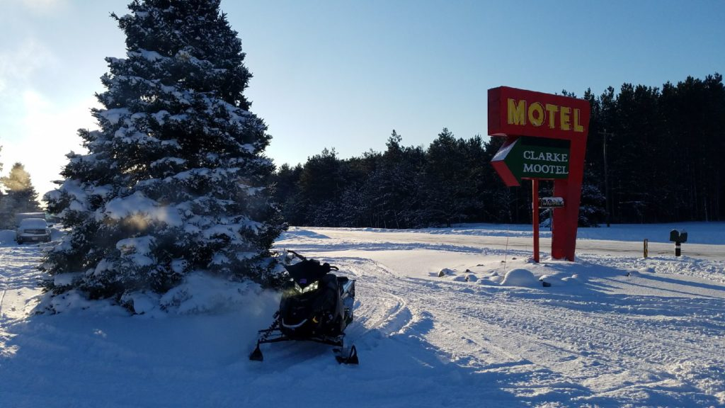 a rider took this of his sled & sent it to me this weekend
