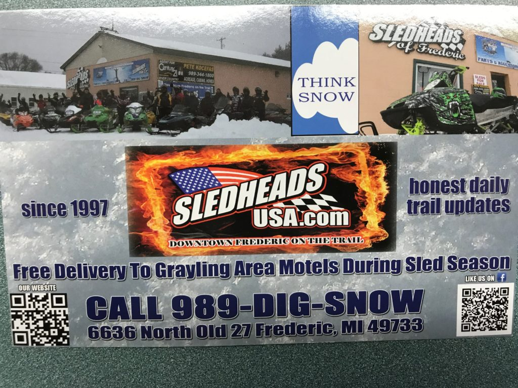 front sledheads