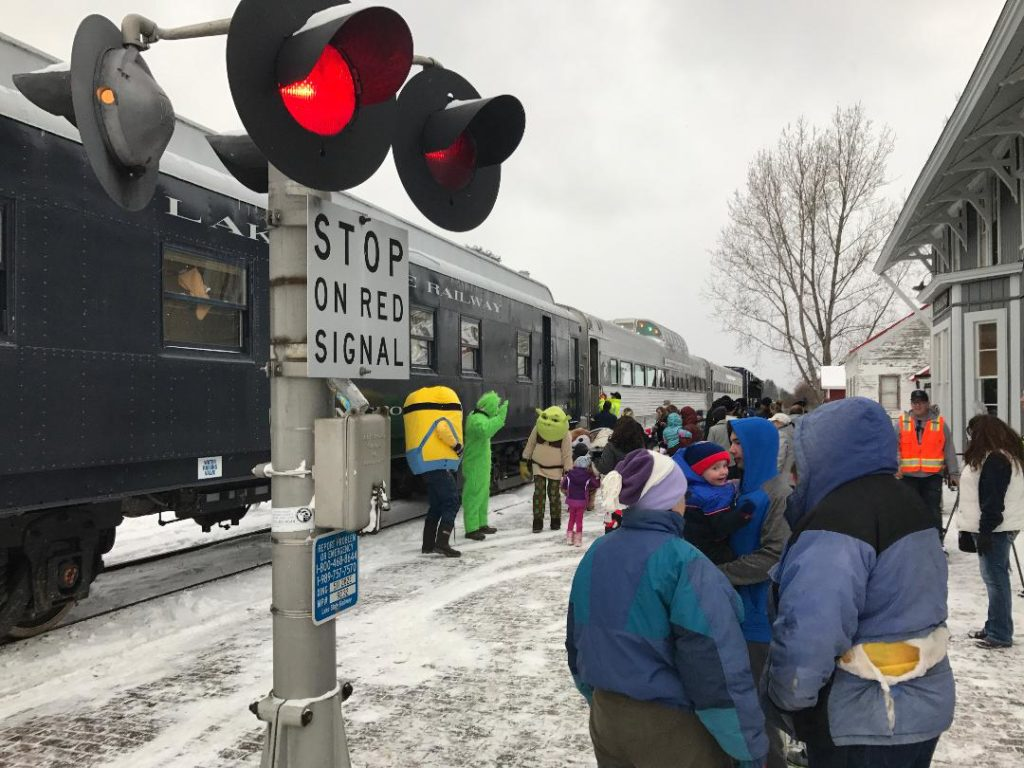 Christmas Train in Grayling