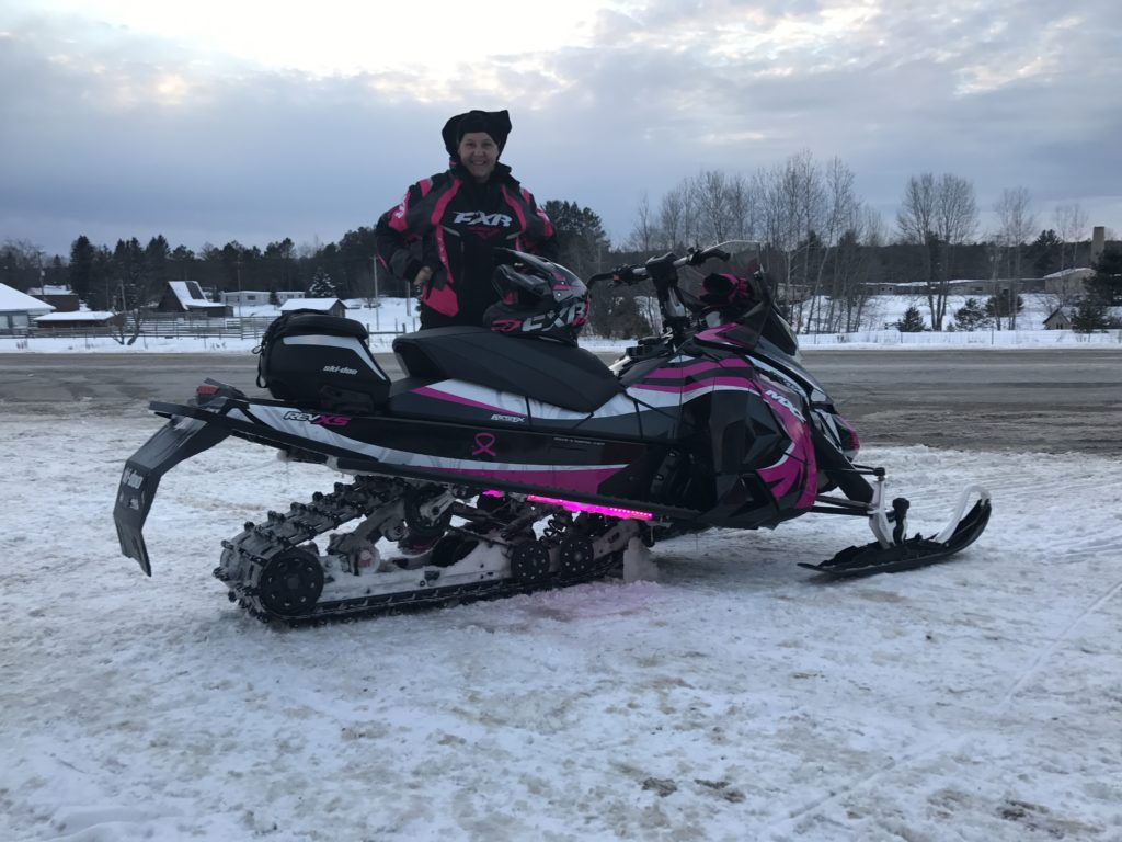 Tuesday Rider, She likes Pink